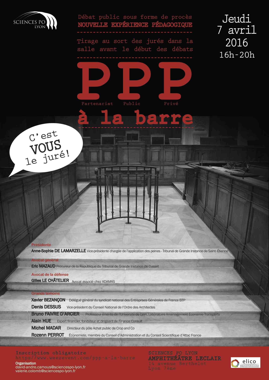 les PPP à la barre